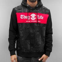 Thug Life Broon Hoody Black/Red