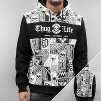 Thug Life Broon Hoody White/Black