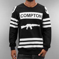 Thug Life Compton Sweatshirt Black