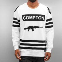 Thug Life Compton Sweatshirt White
