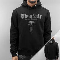 Thug Life Deadflower Hoody Black