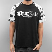 Thug Life Deadknight T-Shirt Black