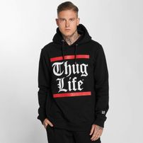 Thug Life / Hoodie B.Gothic in black