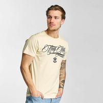 Thug Life Kursiv T-Shirt Beige
