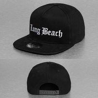 Thug Life Long Beach Cap  Black