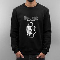 Thug Life Streetlife Sweatshirt Black