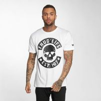Thug Life / T-Shirt B. Camo in white