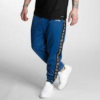 Pánske tepláky Thug Life Two Stripes Sweatpants Blue