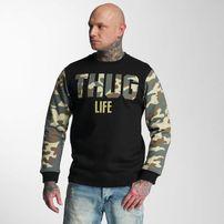 Pánska mikina Thug Life Zombi Sweatshirt Camouflage