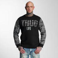 Pánska mikina Thug Life Zombi Sweatshirt Grey