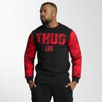 Thug Life Zombi Sweatshirt Red