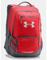UNDER ARMOUR Hustle Backpack II Red / Graphite
