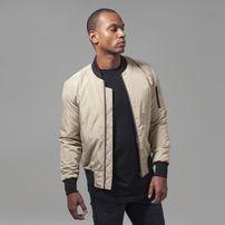 Urban Classics 2-Tone Bomber Jacket gold/blk