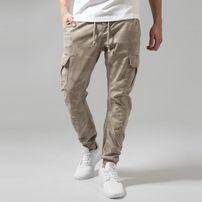 Urban Classics Camo Cargo Jogging Pants sand camo