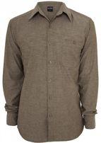 Urban Classics Chambray Shirt forestgreen