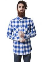 Urban Classics Checked Flanell Shirt wht/roy