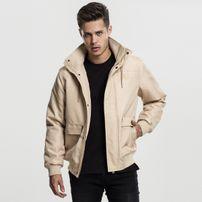 Urban Classics Heavy Hooded Jacket beige