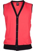 Urban Classics Jersey Button Vest inf/blk