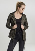 Urban Classics Ladies Basic Cotton Parka olive