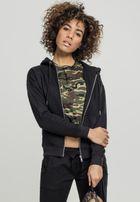 Urban Classics Ladies Classic Zip Hoody black