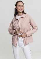 Urban Classics Ladies Coach Jacket lightrose