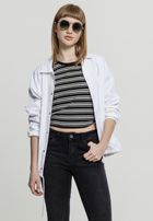 Urban Classics Ladies Coach Jacket white