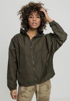 Urban Classics Ladies Oversize Windbreaker darkolive