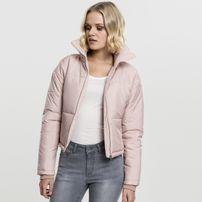 Urban Classics Ladies Oversized High Neck Jacket rose