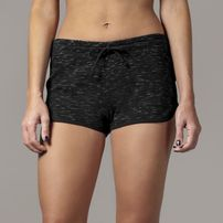 Urban Classics Ladies Space Dye Hotpants blk/wht/blk