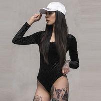 Urban Classics Ladies Velvet Body black