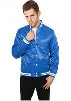 Urban Classics Mens Shiny College Jacket roy/wht
