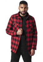 Urban Classics Padded Checked Flanell Light Jacket blk/red