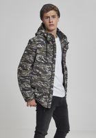 Urban Classics Tiger Camo Cotton Jacket olive/blk/wht