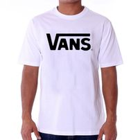 Pánske Tričko Vans MN Vans Classic T-shirt White Black VGGGYB2