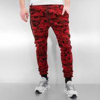 Who Shot Ya? Camo Sweat Pants Red