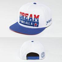 Who Shot Ya? Dream Snapback Cap White