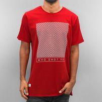 Who Shot Ya? Gunshot T-Shirt Red