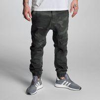 Who Shot Ya? K205 Slim Fit Camo Pants Green Camo