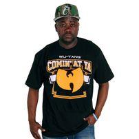 Wu-Wear Commin `at Ya Tee Black