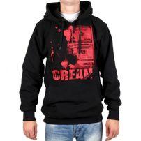 Wu-Wear Cream Cover Bill Hoodie Black