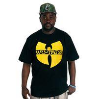 Wu-Wear Logo T-shirt Black