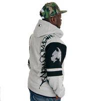 Wu-Wear Method Man Zip Hoody Grey Black