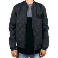 Wu-Wear Quilted Jacket Black