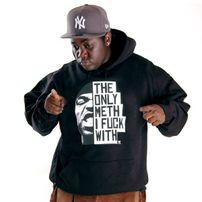 Wu-Wear The Only Meth Hoodie Black
