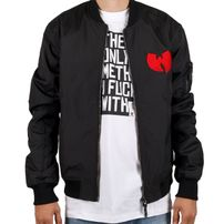 Wu-Wear WU Bomber Jacket Black