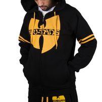 Pánská Mikina Wu-Wear Wu Tang Clan 36 Zip Hoodie Black Yellow