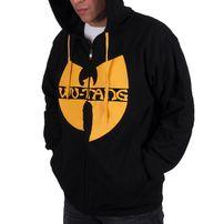Pánská Mikina Wu-Wear WU Tang zip Hoodie Black Yellow