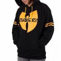 Pánská Mikina Wu-Wear WU36 Hoodie Black Yellow