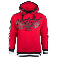 Blood In Blood Out Red Logo Stripe Hoodie