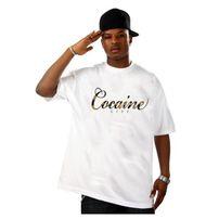 Cocaine Life Camo Logo Promo T-shirt White